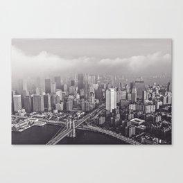 New Vintage City Canvas Print