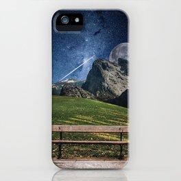Parkbench iPhone Case