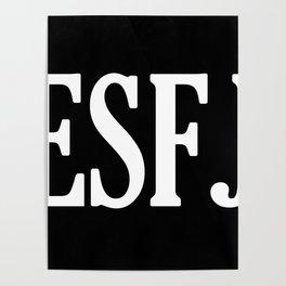 ESFJ Personality Type Poster