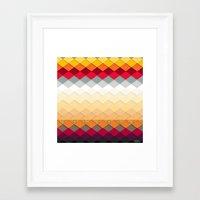 fireworks Framed Art Prints featuring Fireworks by Kakel