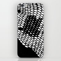 honeycomb iPhone & iPod Skins featuring Honeycomb by Felipe B. C. Gama