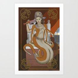 Ekhidna Art Print