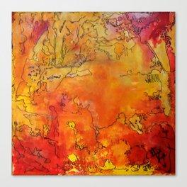Yellow Dreams Canvas Print