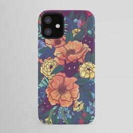 Wild Flowers iPhone Case