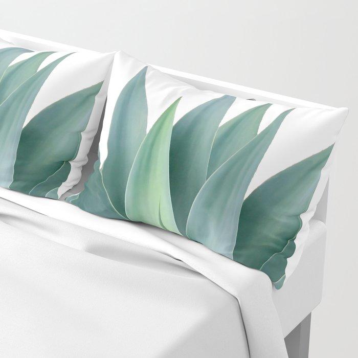 Agave blanco Pillow Sham