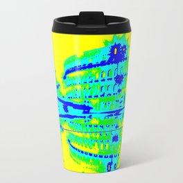 Colosseum Abstract Travel Mug