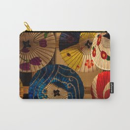 Japanese Umbrellas Carry-All Pouch