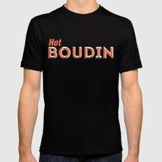 Hot Boudin Mens Fitted Tee MEDIUM Black