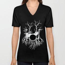 Drummer  Shirt Gift Unisex V-Neck