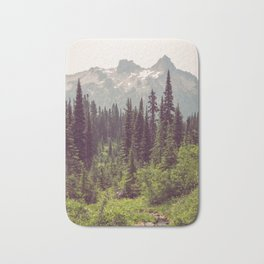 Faraway - Wilderness Nature Photography Bath Mat