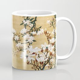 Ito Jakuchu - Malus Halliana And White-eye - Digital Remastered Edition Coffee Mug