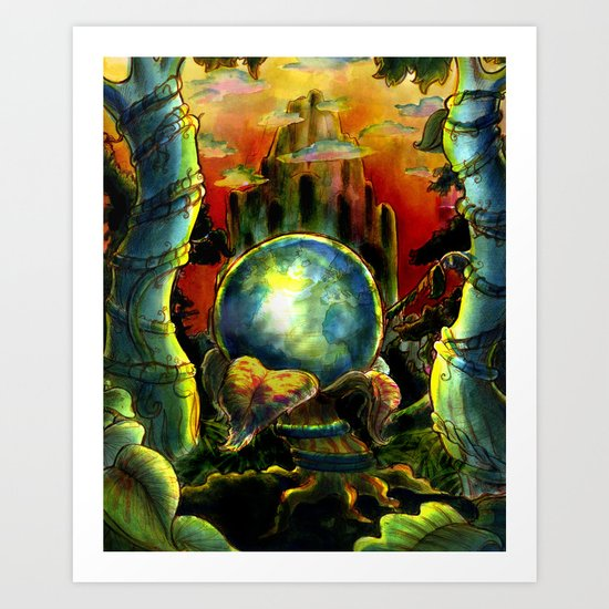 New World Art Print