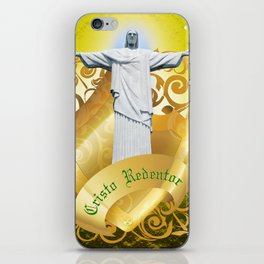 The Cristo Redentor iPhone Skin