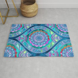 Radiant Boho Color Play Rug