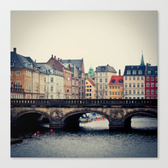 Frederiksholms Kanal Canvas Print