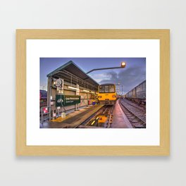 Shed Reflections Framed Art Print