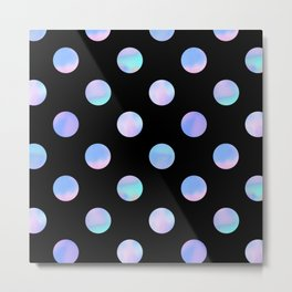 Dreaming Of Polka Dots Metal Print