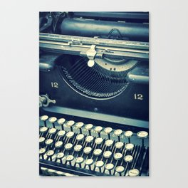 Maquina de Escribir Canvas Print