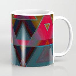 Triangle Abstract Pattern Coffee Mug