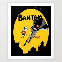 The Adventures of Bantam and Little Pecker Art Print