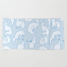 Arctic Pattern Beach Towel