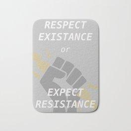 Expect Resistance Bath Mat