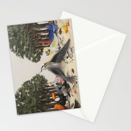 Last Bird Supper Stationery Cards