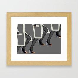 Fashion Week Framed Art Print