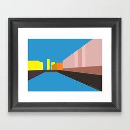 Berlin Perspectives - Palast der Republik Framed Art Print