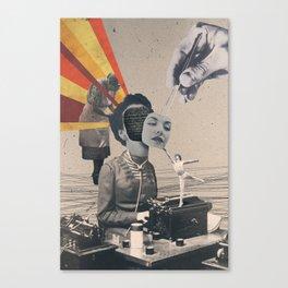 Staff Turnover Canvas Print