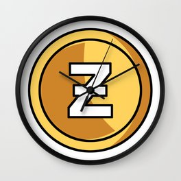 Zero(middle) Wall Clock