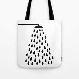 Shower in bathroom Tote Bag