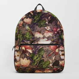 Magnolias and Hummingbirds Backpack