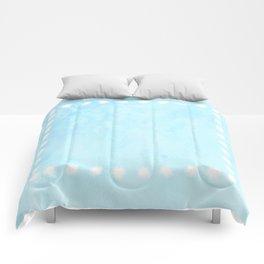 Border Puff Comforters