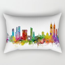 Mumbai Skyline India Bombay Rectangular Pillow