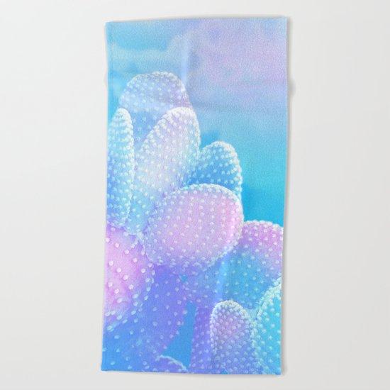 Air cacti Beach Towel