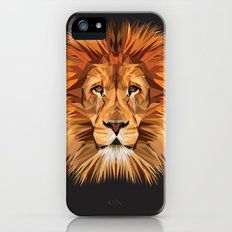 Lion Triangle Slim Case iPhone (5, 5s)