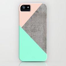 Concrete Collage iPhone SE Slim Case