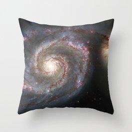 Messier 51 Throw Pillow