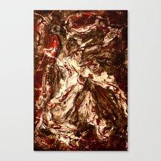 Burnt Canvas Print