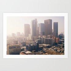 Downtown Los Angeles Art Print