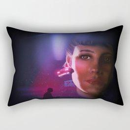 Rachael Blade Runner Poster Rectangular Pillow