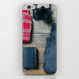 Get ready for the trip. Man edition iPhone Skin