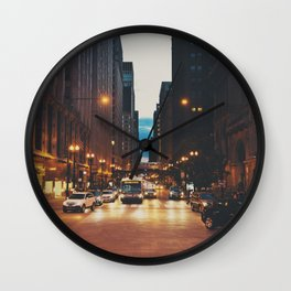 the streets of Chicago ... Wall Clock