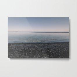 Flat Water Metal Print