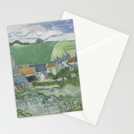 View of Auvers Stationery Cards