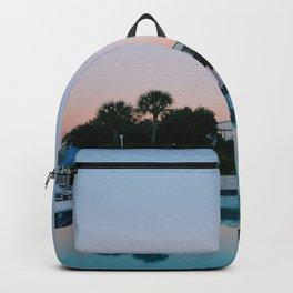Reflection Pool, Florida Backpack