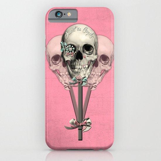 Sweet as Candy, skull lollipops  iPhone & iPod Case