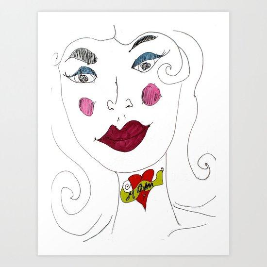 """MoM"" Art Print"
