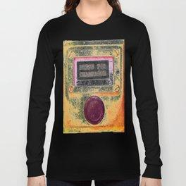 Champagne Poster, Alcohol Wall Art, Kitchen Decor, T-Shirts, Mugs, Pillows Long Sleeve T-shirt